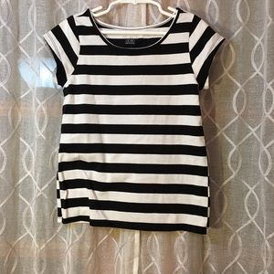 Children's Place Dresses - Children's place dress black/white w/striped shirt